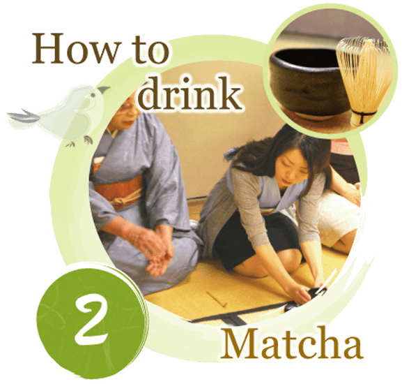 how to drink matcha or japanese tea